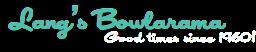 Lang's Bowlarama
